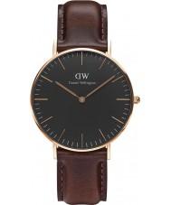 Daniel Wellington DW00100137 Klassiskt svart Bristol 36mm klocka