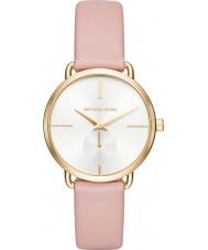 Michael Kors MK2659 Ladies Portia rosa läderband watch