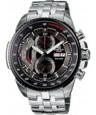 Casio EF-558D-1AVEF Man byggnad svart stål chronographklockan