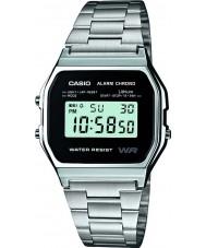 Casio A158WEA-1EF Mens samling klocka