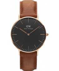 Daniel Wellington DW00100138 Klassiskt svart durham 36mm klocka