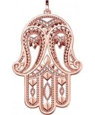 Thomas Sabo PE731-416-14 Damer glam och själ 18ct ros guldpläterad hängsmycke