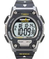 Timex T5K195 Mens grå ironman stöt motstå 30 varv sportklockan