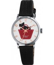 Radley RY2345 Damer gränsen svart och umbra läderrem watch