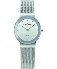 Skagen 358SSSD Damer klassik krom silver mesh watch