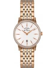 Rotary LB90057-06 Damer les origin Kensington steg guld stål watch