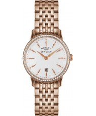 Rotary LB90054-06 Damer les origin Kensington steg guld stål watch