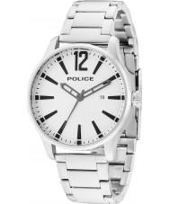 Police 14764JS-04M Man dallas silver stål armband klocka