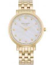 Kate Spade New York 1YRU0821 Damer Monterey guldpläterad armband klocka