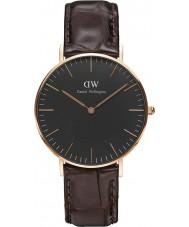 Daniel Wellington DW00100140 Klassiskt svart york 36mm klocka