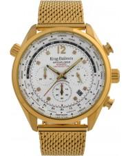 Krug-Baumen 100408DM Mens air explorer diamant begränsad upplaga klocka