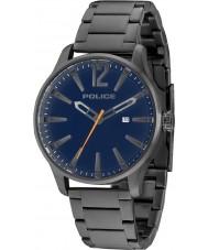 Police 14764JSU-03M Man dallas grå stål armband klocka