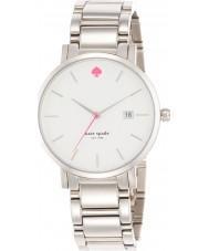 Kate Spade New York 1YRU0008 Damer Gramercy stora silver stål armband klocka