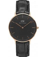 Daniel Wellington DW00100141 Klassiskt svart läsning 36mm klocka