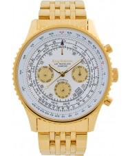 Krug-Baumen 600101DSA Mens air traveler diamant automatisk klocka