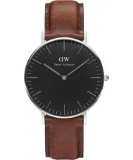 Daniel Wellington DW00100142 Klassiskt svart St Mawes 36mm klocka