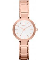 DKNY NY2400 Damer Stanhope steg guld stål armband klocka