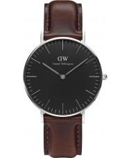 Daniel Wellington DW00100143 Klassiskt svart Bristol 36mm klocka