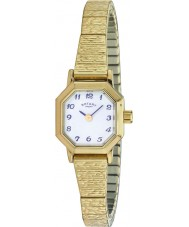 Rotary LB00764-29 Damer klockor guldpläterade expander armband klocka