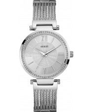 Guess W0638L1 Damer soho silver stål armband klocka
