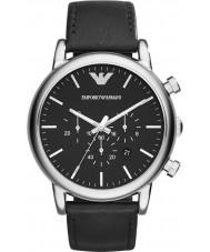 Emporio Armani AR1828 Mens klassiska kronograf svart klocka