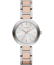 DKNY NY2402 Damer Stanhope två ton stål armband klock
