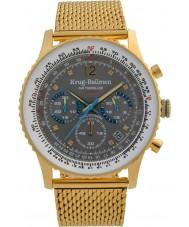 Krug-Baumen 412109DS Mens luftresande diamant klocka