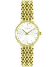 Rotary LB00900-01 Damer guldpläterade klockan