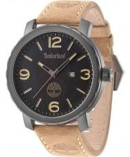 Timberland 14399XSU-02 Man Pinkerton brunt läder Strap Watch