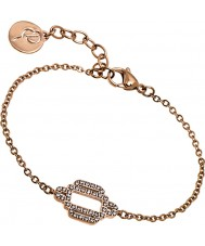 Edblad 31630028 Ladies elvira ros guldpläterad armband