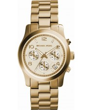 Michael Kors MK5055 Damer bana guld chronographklockan