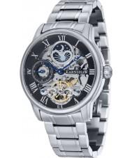 Thomas Earnshaw ES-8006-11 Mens longitud silverarmband automatisk klocka