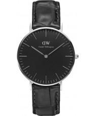 Daniel Wellington DW00100147 Klassiskt svart läsning 36mm klocka