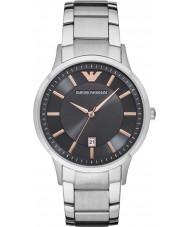 Emporio Armani AR2514 Mens klänning silver stål armband klocka