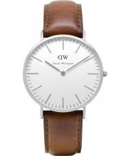 Daniel Wellington DW00100021 Mens klassiska 40mm st Mawes silver watch