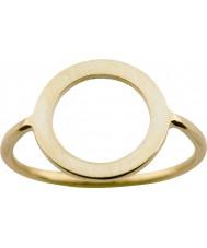 Nordahl Jewellery 125211-58 Damer guld förgyllda ring - storlek q
