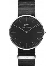 Daniel Wellington DW00100149 Klassiskt svart cornwall 40mm klocka
