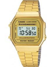 Casio A168WG-9EF Samling klassiska guldpläterade digital klocka