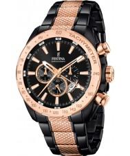 Festina F16888-1 Mens prestige två ton stål chronographklockan
