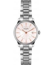 Rotary LB02770-07 Damer klockor locarno silver stål watch