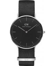 Daniel Wellington DW00100151 Klassiskt svart cornwall 36mm klocka