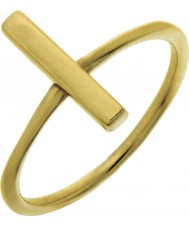 Nordahl Jewellery 125225-54 Damer guld förgyllda stift ring - storlek n