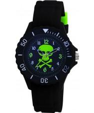 Tikkers TK0031 Barn svart gummi watch
