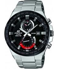 Casio EFR-542DB-1AVUEF Man byggnad världstid silver watch