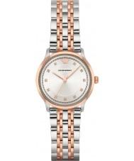 Emporio Armani AR1962 Damer klassiska två ton stål armband klock