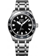 Rotary LB90168-04 Damer klockor arv silver stål armband klocka