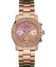 Guess W0774L3 Damer konfetti ros guldpläterad armband klocka