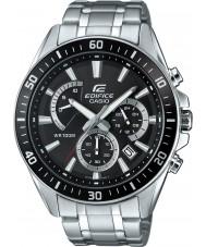 Casio EFR-552D-1AVUEF Man byggnad Premie silver chronographklockan