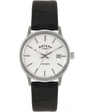 Rotary GS02874-06 Mens tidmätare hämnarens vit svart watch