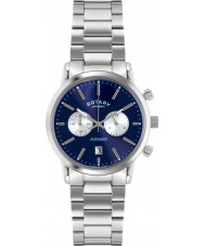 Rotary GB02730-05 Mens Timepieces sport avenger blå silver chronographklockan